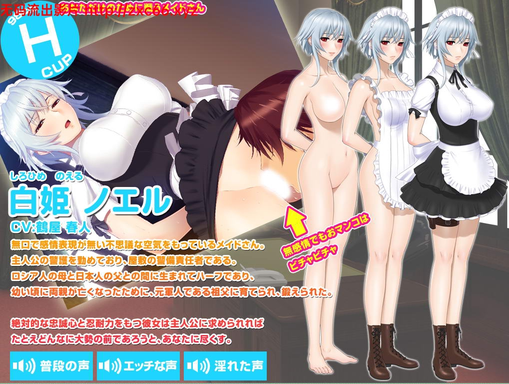 [ADV/汉化/动态CG]女仆小姐姐们和巨汝之魂!正式版+全CG+动画汉化步兵版[2.6G]
